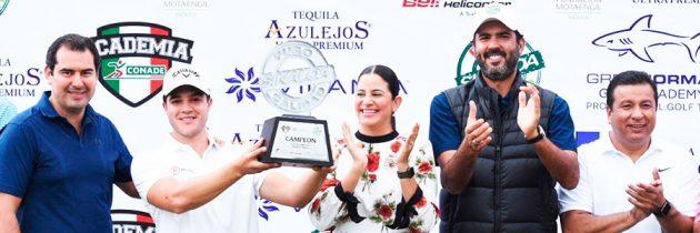 Sebastián Vázquez captura la Copa Puro Sinaloa