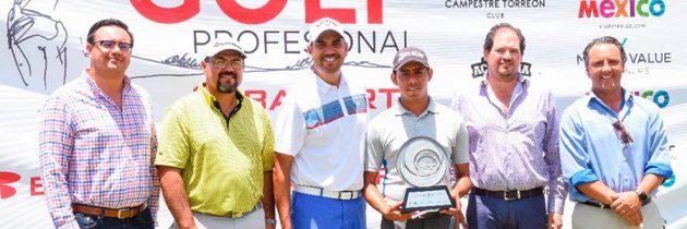 Sorpresivo triunfo en la Gira Banorte en Torreón