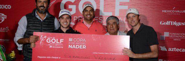 """Vázquez, campeón de la """"III Copa José Miguel Nader"""""""