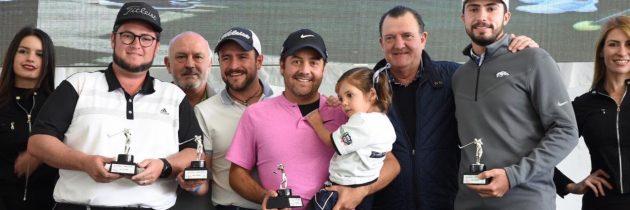 Álvaro Ortiz encabeza equipo ganador del ProAm de la II Copa Prissa