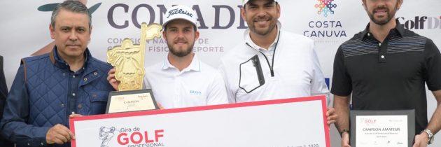 Isidro Benítez es campeón en Guadalajara