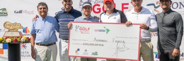 Armando Favela gana la III Wipa´s Invitational