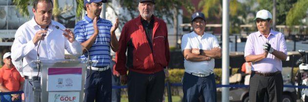 Gobernador de Morelos inaugura la III Wipa´s Invitational