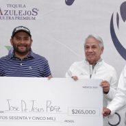 Es campeón Camarón Rodríguez en Amanali