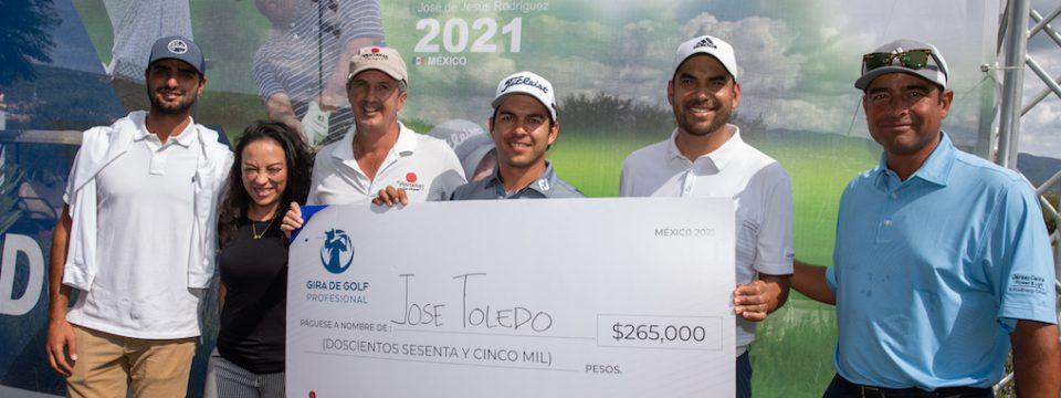 Tercera victoria en el año para José Toledo